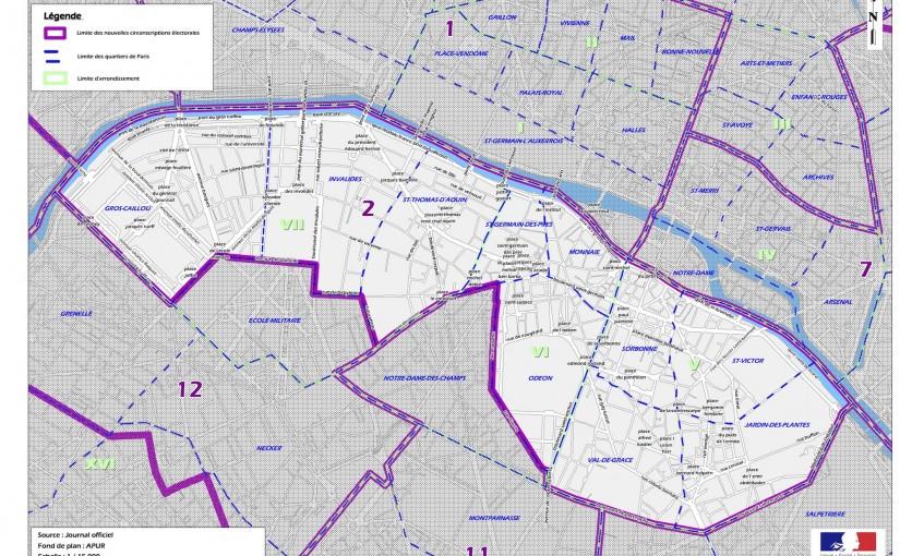En campagne dans la 2e circonscription de Paris