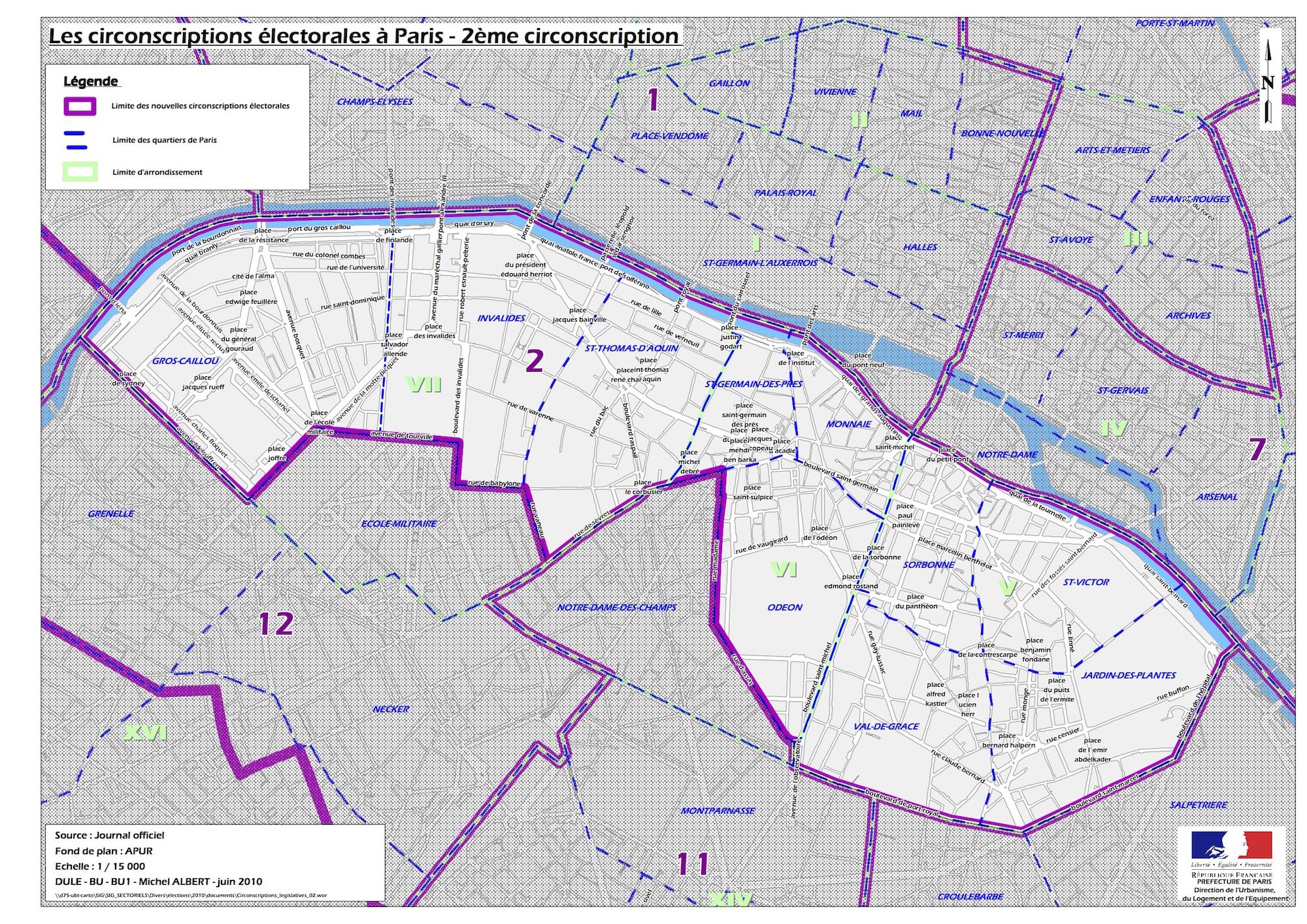 Legislatives 2 circonscription paris