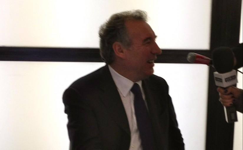 Déclaration de candidature de François Bayrou le 7 décembre 2011