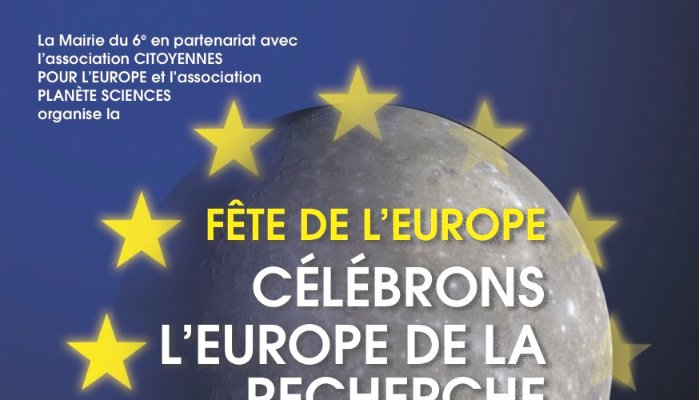 9 mai 2016: Fête de l'Europe de la science