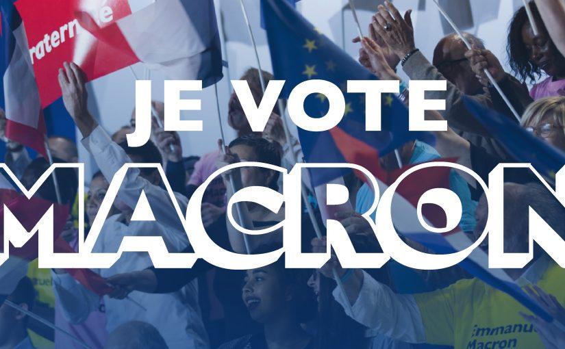 Dimanche, #JevoteMacron parce que j'aime la #France et l'#Europe
